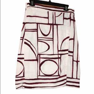 Loft Wrap Midi Skirt